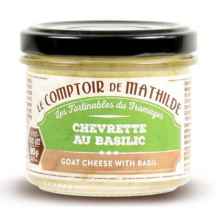 Kozí syr a bazalka