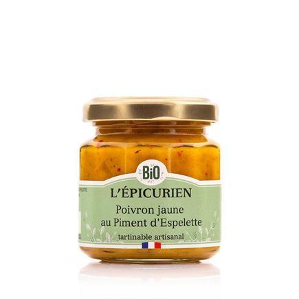 Žltá paprika s Espelette korenie